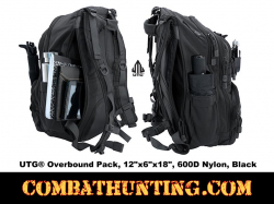 "UTG� Overbound Pack 12""x6""x18"" 600D Nylon Black"