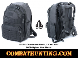 "UTG� Overbound Pack 12""x6""x18"" 600D Nylon Gun Metal"