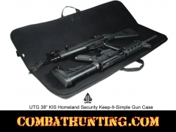 "Homeland Security Kis 38"" Covert Gun Case Black"