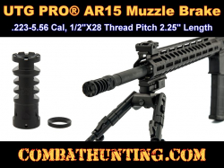 UTG PRO� AR15 Muzzle Brake .223/5.56 1/2
