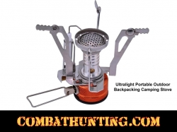Ultralight Portable Outdoor Backpacking Camping Stove