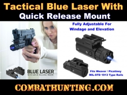 Ncstar Blue Laser Sight with Quick Release Mount