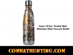 Camo Vacuum Bottle 16.9oz