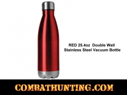 Red Vacuum Bottle 25.4oz