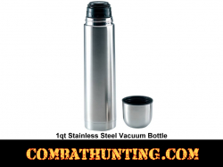 Vacuum Bottle 1qt Stainless Steel