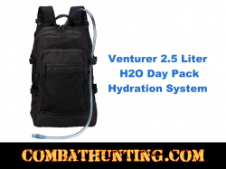 2.5 Liter H2O Back Hydration System Day Pack