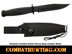 Vietnam Combat Knife With Sheath
