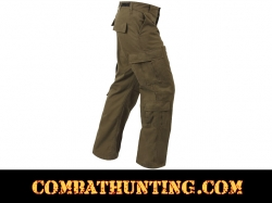 Russet Brown Vintage Paratrooper Fatigue Pants