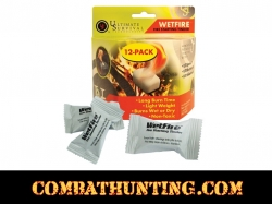 WetFire Tinder 12 Pack Ultimate Survival