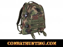 Woodland Camo Large Transport Pack