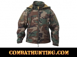 Rothco Special Ops Tactical Soft Shell Jacket Woodland Camo