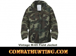 Woodland Vintage M-65 Field Jacket