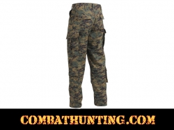 Woodland Digital Camo Army Combat Uniform Pants