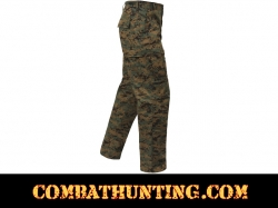 Woodland Digital Camo BDU Pants