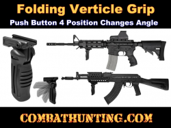 AR-15 Folding Vertical Grip 4 Position