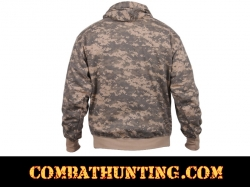 Acu Digital Camouflage Pullover Hooded Sweatshirt