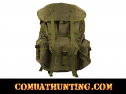 GI Type Large OD Alice Pack With Frame