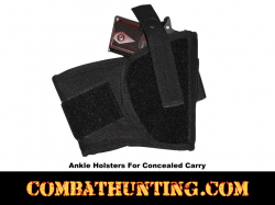 Ankle Gun Holster For Compact Sub Compact Pistols
