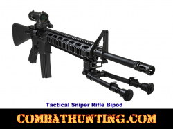 Rifle Bipod With Picatinny Rail Mount