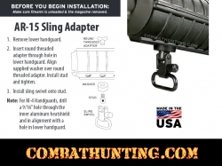 AR15 Sling Swivel Stud & Swivel AR15 Handguards