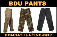Military Fatigues Pants BDU