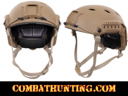 Advanced Tactical Adjustable Airsoft Helmet Coyote Brown