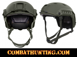Advanced Tactical Adjustable Airsoft Helmet OD