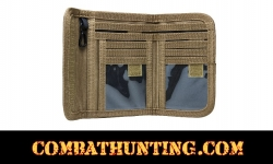 Military Style Bifold Wallet Tan/FDE