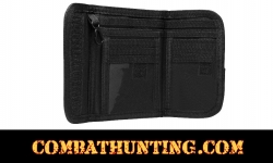Military Style Bifold Wallet Swat Black