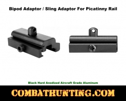 Bipod Adapter for Picatinny Rail