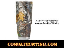 Camo Tumbler 40oz With Lid
