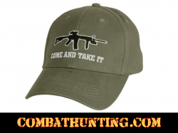 Come and Take It Hat Deluxe Embroidered Cap