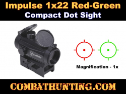 Red/Green Dot Sight 1x22mm Compact