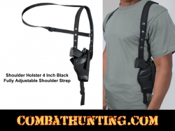 "Shoulder Holster 4"" Standard / Compact Semi Autos"