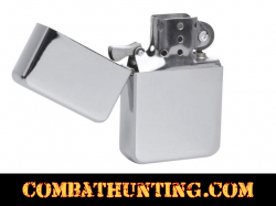 Polished Chrome Lighter Flip Top