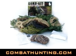 Ghillie Suit Camo Kit Material