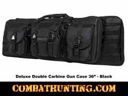 Double Carbine Case 36 Inches Black