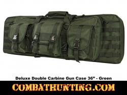 Double Carbine Case 36 Inches Military Green