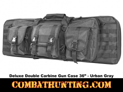 Double Carbine Case 36 Inches Urban Gray
