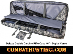 Double Tactical Rifle Case 46 Inches Digital Camo