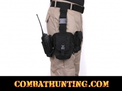 Drop Leg Holster With Utility Rig