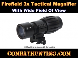 Firefield 3x Tactical Magnifier for Weapon Sights