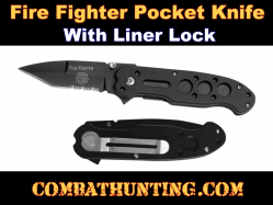 Firefighter Pocket knife With Liner Lock