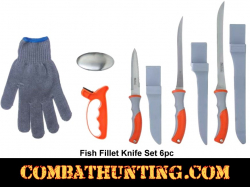 Fish Fillet Knife Set 6pc