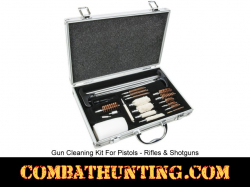 Universal Gun Cleaning Kit For Pistol, Rifle, Shotguns