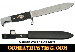 German WWII Hitler Youth Knife Replica