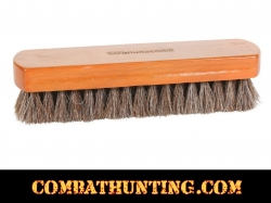 Professional Shoe Shine Brush Horsehair