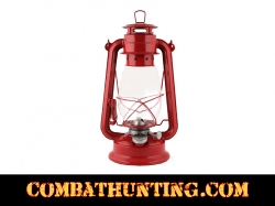Oil-Kerosene Lantern In Red