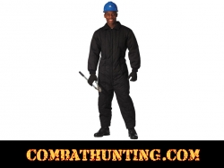 Black Insulated Coveralls / Overalls