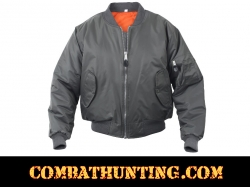 MA-1 Flight Jacket Color Gun Metal
